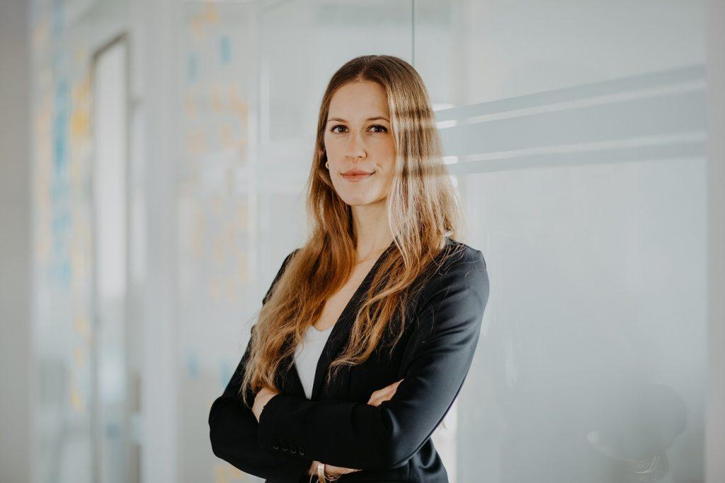 Dr. Anne Latz, M.Sc., Chief Medical Officer bei alley